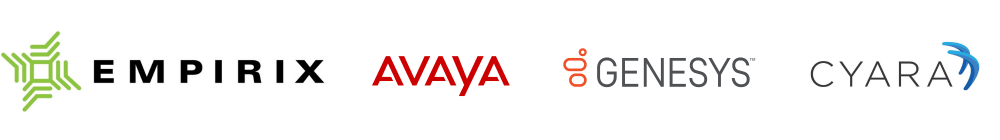 Avaya, Genesys, Cyara, Empirix are all partners of Blackchair