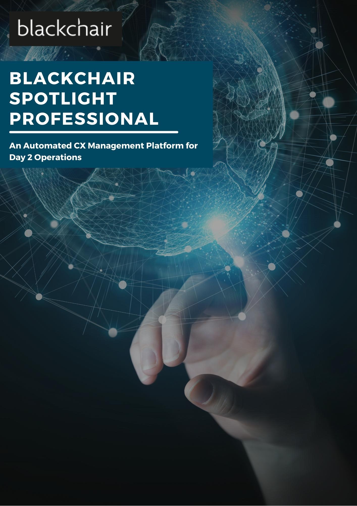 Blackchair - Brochures - Spotlight Professional